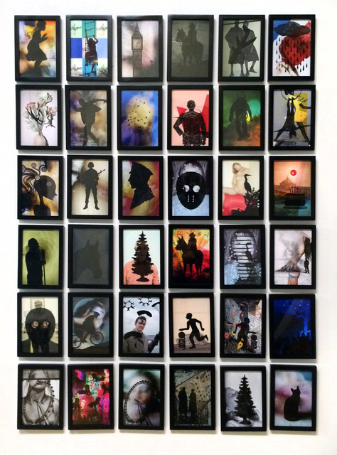 , 'Double Printed Silhouettes, ,' 2015, Janet Borden, Inc.