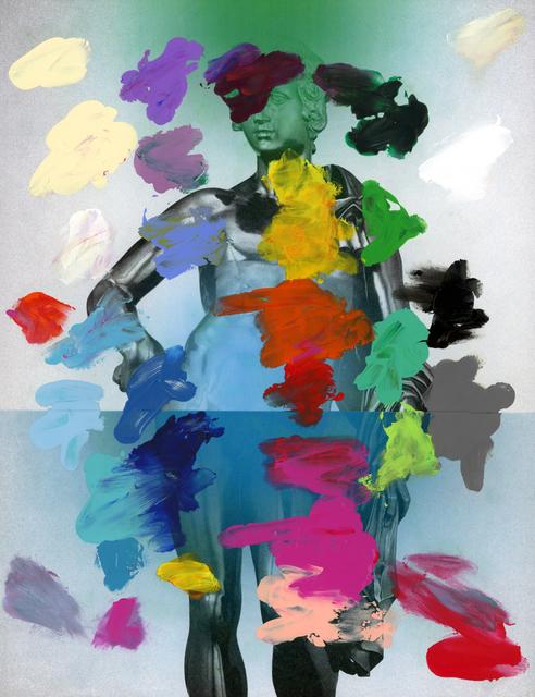 , 'Composition on Panel 56,' 2016, Joseph Gross Gallery