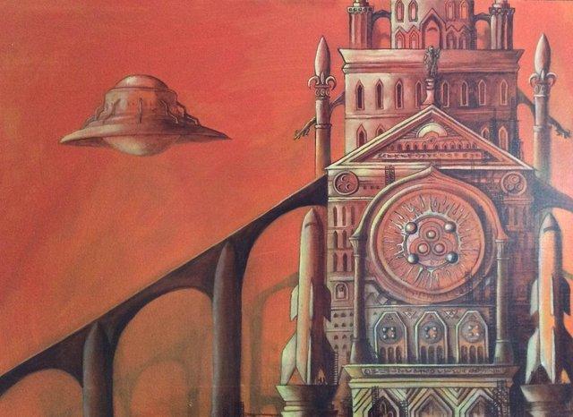 Artem Mirolevich, 'Red Planet', Urbaniza Studio Gallery