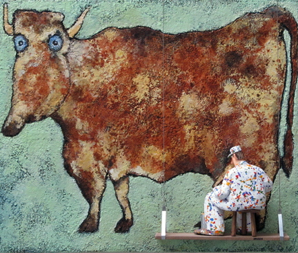 , 'The Cow with Subtle Nose (Dubuffet),' 2015, Zenith Gallery