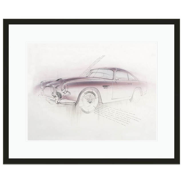 , 'Aston Martin DB4 | Car | Automotive,' 2015, Whyte Fine Art