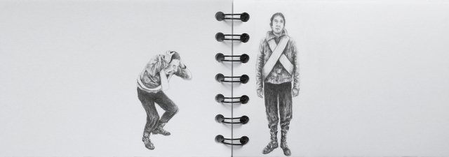 , 'Sketchbook Series (soldiers ),' 2017, Beatriz Esguerra Art