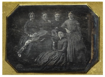 A Group of Women Musicians with Guitar