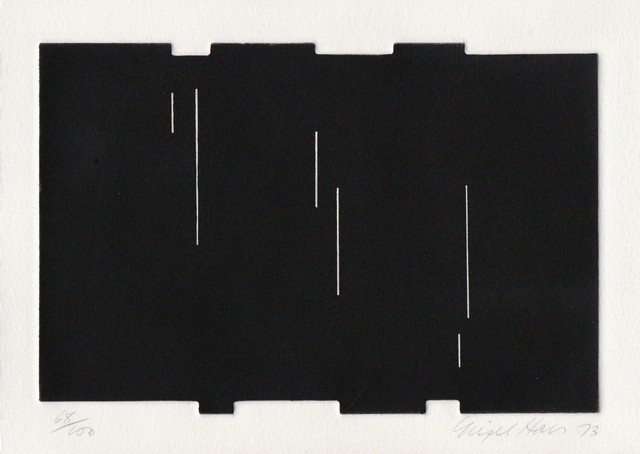 Nigel Hall, 'Untitled (From Eighteen Small Prints)', 1973, Bernard Jacobson Gallery