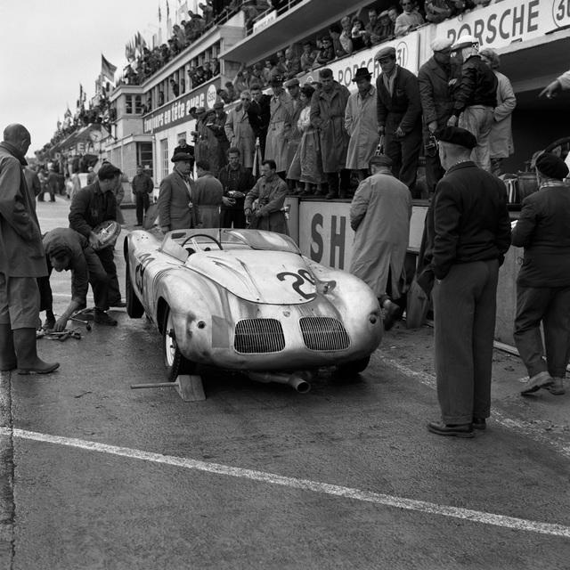 , 'Porsche Pit Stop at Le Mans,' 1959, Robert Klein Gallery