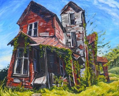 , 'Red House Over Yonder,' ca. 2015, Gallery Pegasus