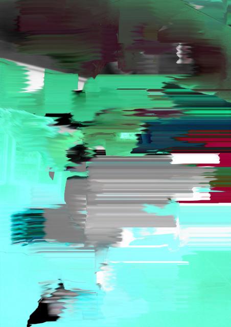 , 'Green Mist #smudge,' 2015, MIYAKO YOSHINAGA