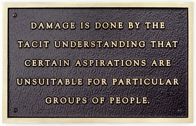 Jenny Holzer, 'Damage is done by the tacit understanding...', 1981, Sprüth Magers