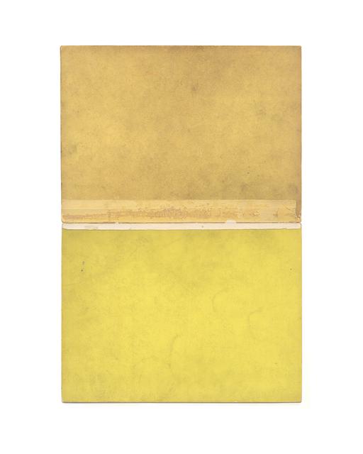 , 'Untitled (Curry) (Yellow Rothko),' 2013, Garvey | Simon