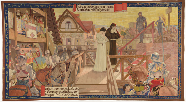 , 'The Execution of Joan of Arc, from the series The Story of Joan of Arc,' 1905-1907, de Young Museum
