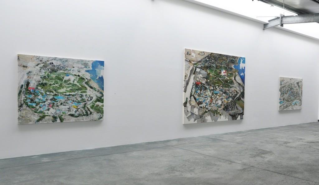 "Gabi Trinkaus, Serie ""Pool Landscapes"""