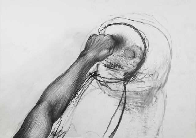 Miriam Cahn, 'ins auge', 29.04.2013, Galerie Jocelyn Wolff