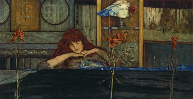 , 'I Lock My Door Upon Myself,' 1891, Guggenheim Museum