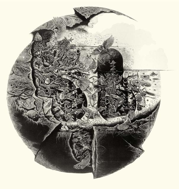 Kobayashi Keisei, 'Transferred Soul-Illusional Planet', 1990, Asia Art Center