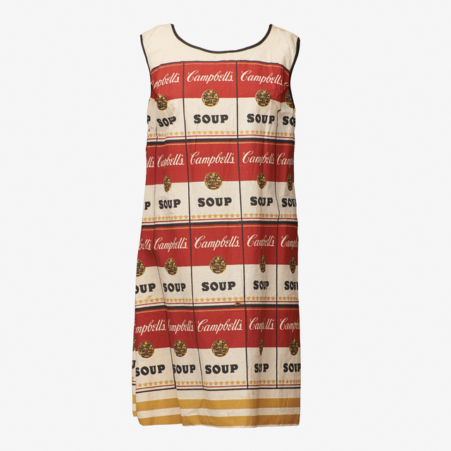 Andy Warhol, 'The Souper Dress', ca. 1965, Print, Screenprint in colors on paper dress, Rago/Wright