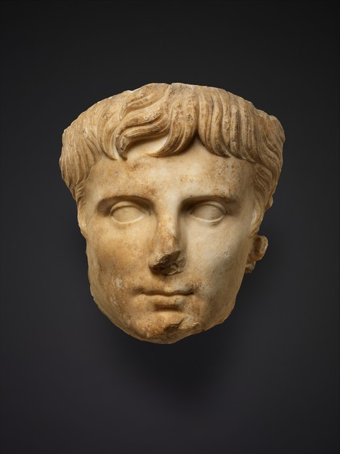 Unknown Roman, 'Marble portrait of the emperor Augustus', ca. A.D. 14–37, The Metropolitan Museum of Art