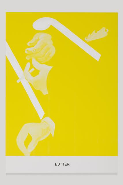 , 'The Yellow Series: Butter,' 2016, Galerie Greta Meert