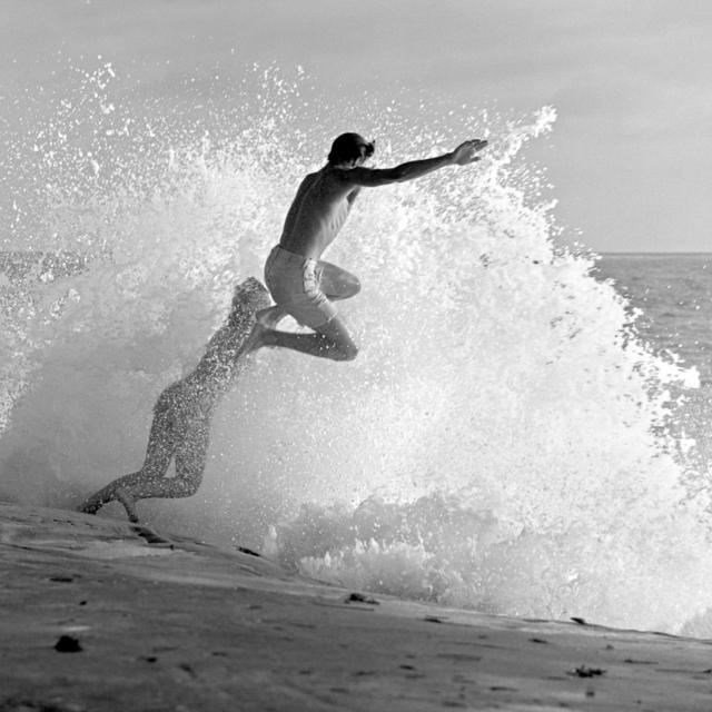 Roy Porello, 'Shore Break Jump, Windansea', 1962, Quint Gallery