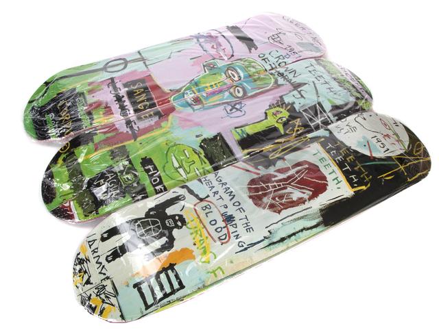 After Jean-Michel Basquiat, 'In Italian', Julien's Auctions