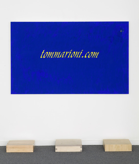 , 'Not a Painting, a Sign,' 2013, Anglim Gilbert Gallery