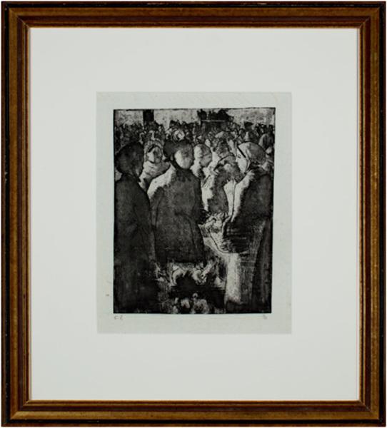 , 'Marche a La Volaille, a Gisors,' 1891, David Barnett Gallery