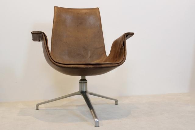 , 'Original Fabricius & Kastholm Kill FK 6727 Tulip Swivel Chair, Denmark 1960s,' , MooieStukken