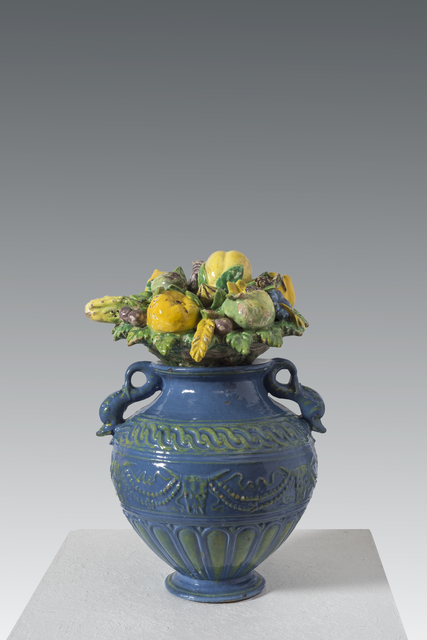 , 'Decorative amphora vase with lid of fruits, flowers and animals,' ca. 1510, Brun Fine Art