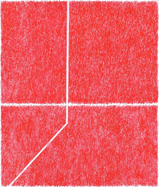 , 'Spray Red 4,' 2019, Haw Contemporary