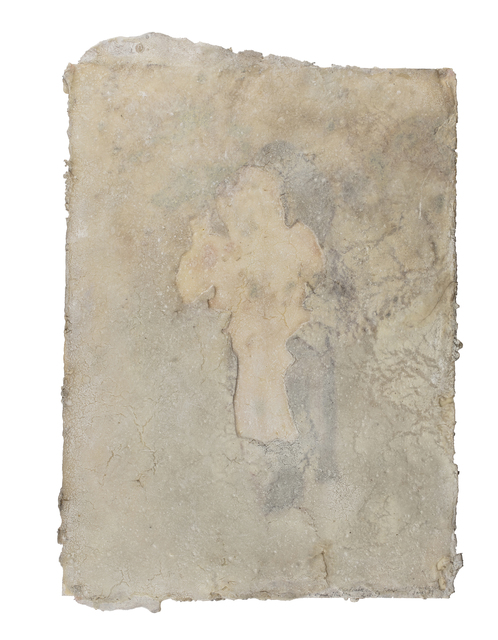 José María Sicilia, 'Untitled', 1989, Drawing, Collage or other Work on Paper, Wax on paper, Millon
