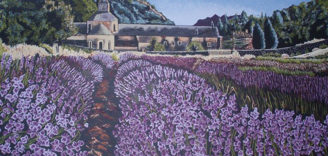 , 'Lavandas en la Abadilla de Senanque,' 2006, Ruiz-Healy Art