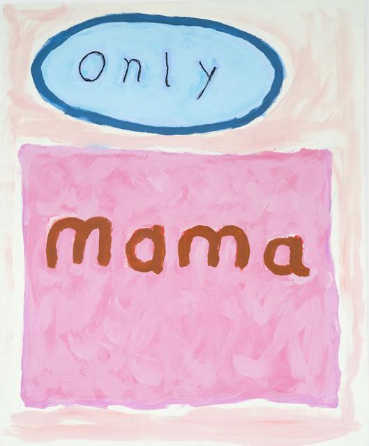, 'o.T. (only mama),' 1999, Ruttkowski;68