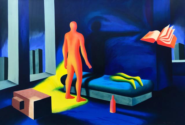 Mark Kostabi, 'ILLUMINATED BY TWILIGHT', 1991, Gallery Art