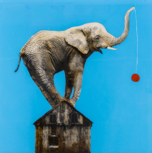 , 'Red Ball,' , Merritt Gallery