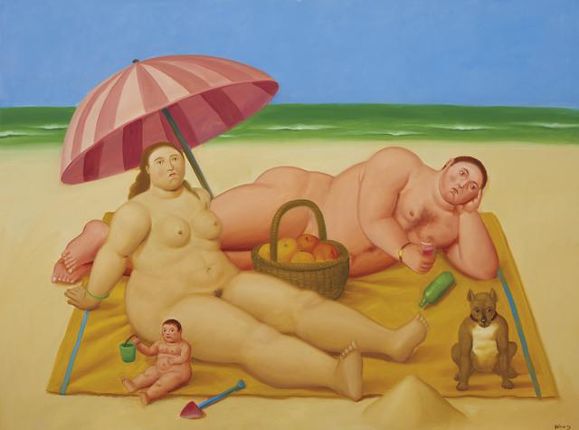 Fernando Botero, 'Nudist Family', 2009, Christie's
