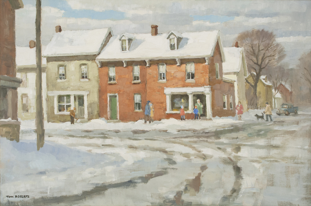 , 'Corner Store, Bathurst St.,' , Canadian Fine Arts