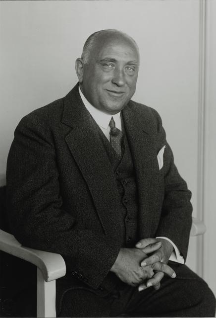 August Sander, 'Entrepreneur [Ludwig Blatzheim], 1930', Galerie Julian Sander