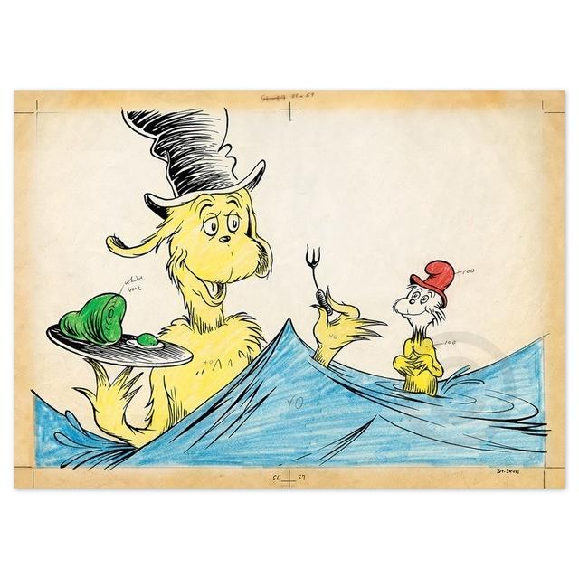 Dr. Seuss, 'Dr. Seuss, I Like Them Sam - I - Am', Oliver Cole Gallery