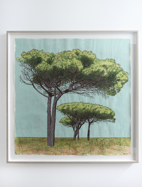 , 'Pine Trees, Pinelands High School, Cape Town,' 2017, Jack Shainman Gallery