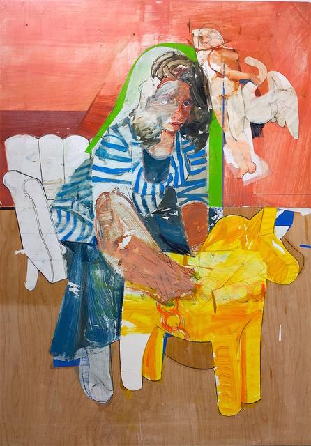 Karim Hamid, 'Annuntiare 32 (Leda and the Swan with Attendants)', 2019, VICTORI+MO CONTEMPORARY