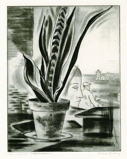 , 'Sanserverie,' 1937, Thomas French Fine Art
