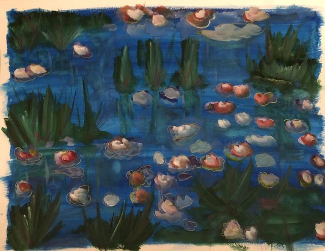 Samuel Iztueta, 'Waterlilies', 2018, Imlay Gallery
