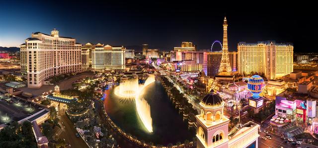 , 'Las Vegas Strip at the Cosmopolitan,' 2018, Fusion Art