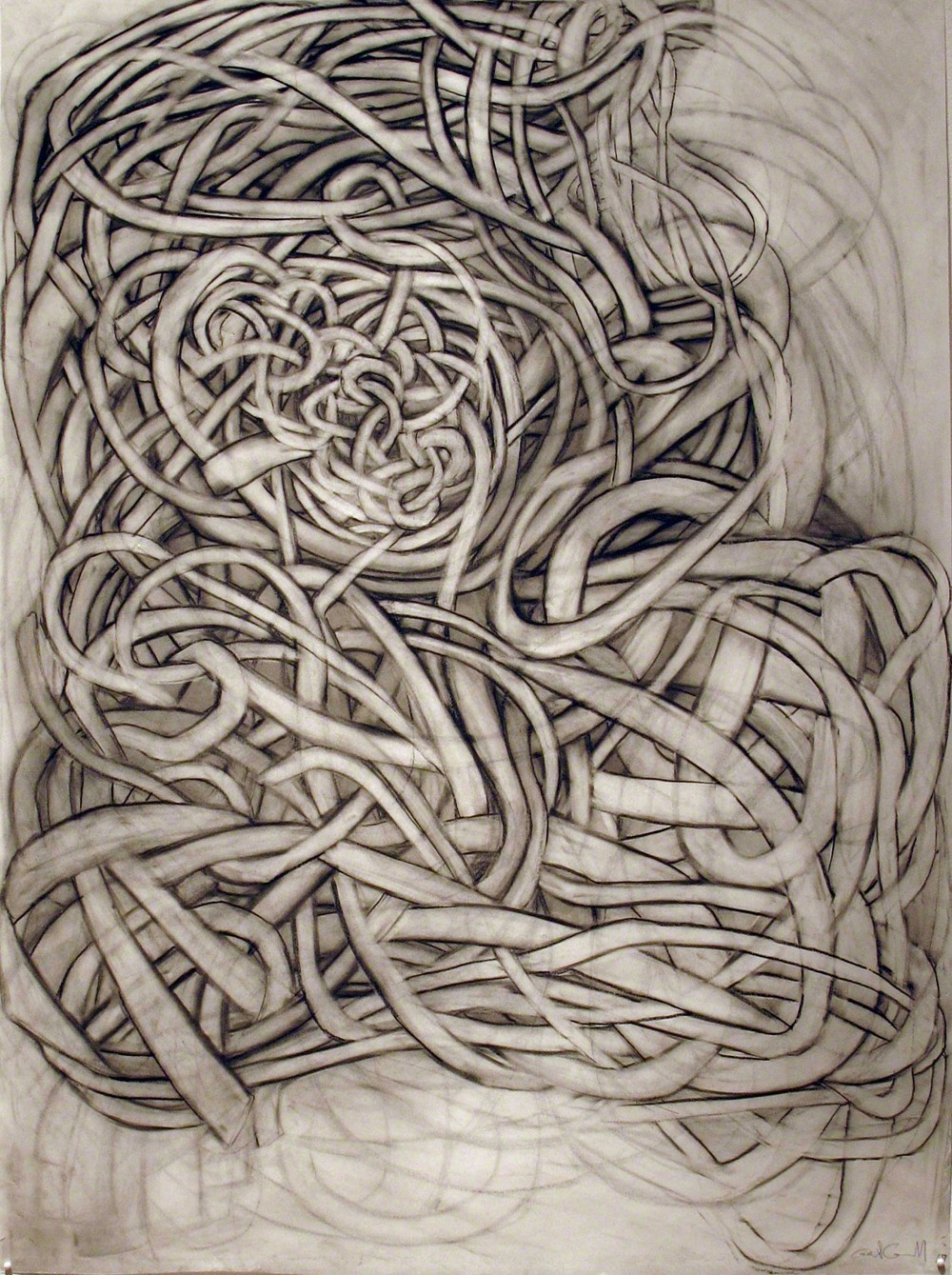 , 'Charcoal Drawing 1,' 2010, G. Gibson Gallery