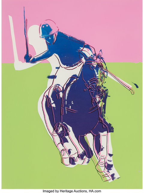 Andy Warhol, 'Polo (Green and Pink)', 1985, Heritage Auctions