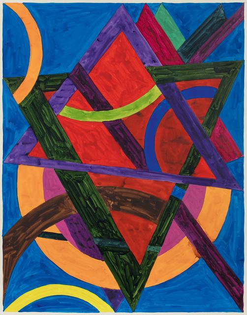 William T. Williams, 'Grand Ave', 1970, Michael Rosenfeld Gallery