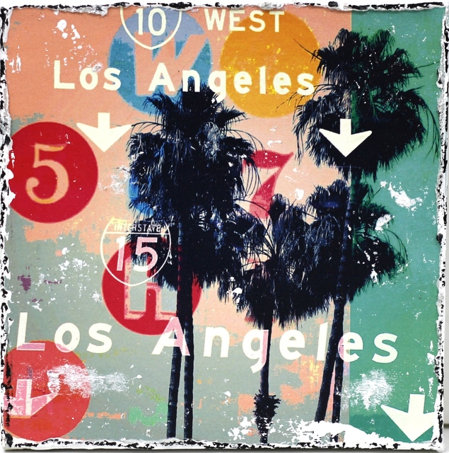 , 'Los Angeles Palms,' 2013, Artspace Warehouse