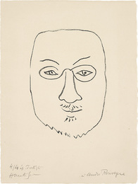 Henri Matisse, Masque (Mask)