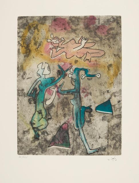 Roberto Matta, 'Centre Noeds - Plate IX', 1974, MLA Gallery