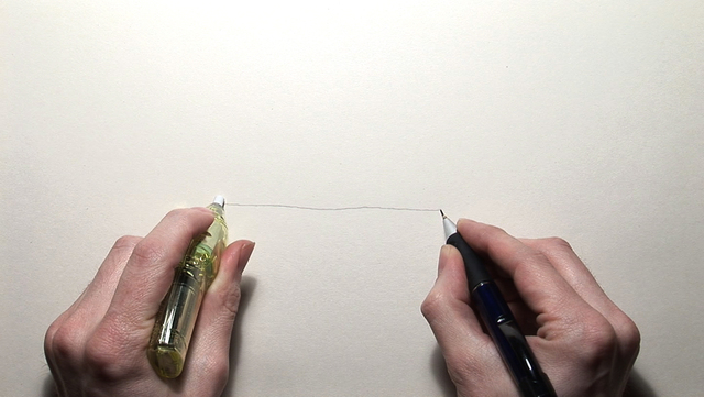 , 'Pencil/Line/Eraser,' 2008, Carroll / Fletcher