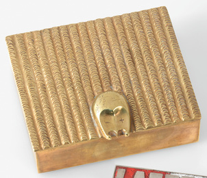 "Line Vautrin, '""Comptable"" Box,' circa 1945, Sotheby's: Important Design"
